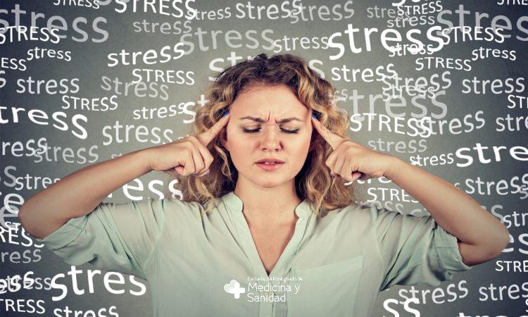 Tipos de estrés, síntomas y factores de riesgo